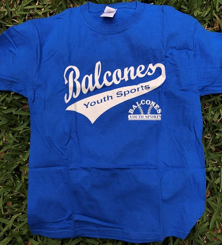 Balcones Youth Sports T-shirt - Blue