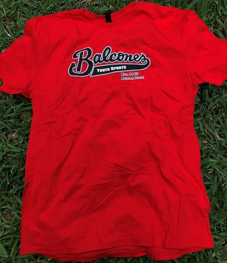 Balcones Youth Sports T-shirt - Red