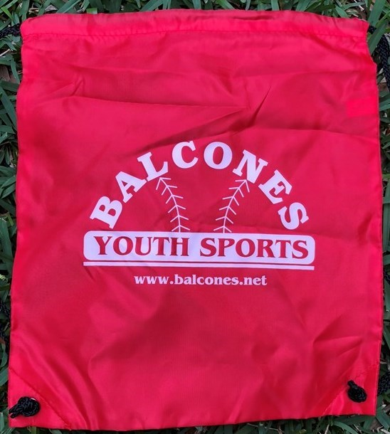 Balcones Youth Sports Draw String Backpack