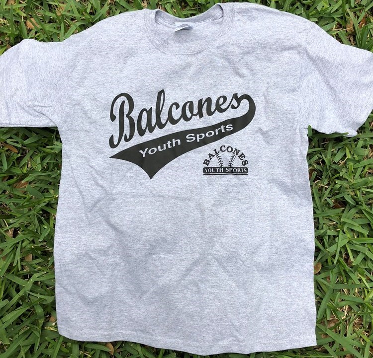 Balcones Youth Sports T-shirt - Grey